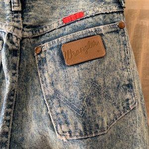 Vintage Acid Wash Wrangler Jeans